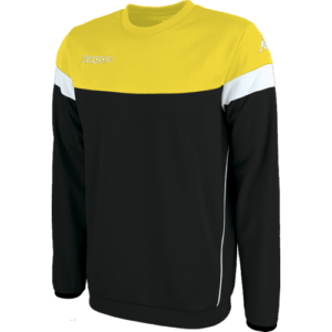 Lido sweater black yellow