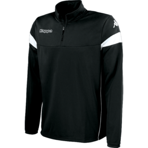 Novare 1/4 zip black