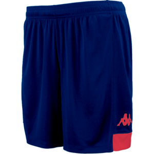 Paggo match shorts navy red