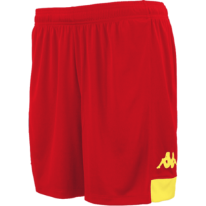 Paggo Match Shorts Red Yellow