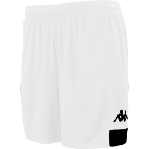 Paggo match shorts white