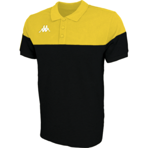 Pianetti polo blk yellow