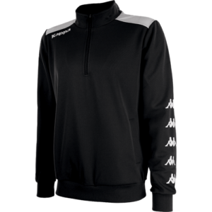 Sacco 1/4 Zip sweater Black