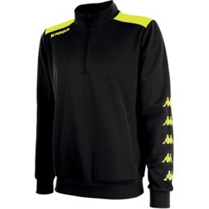 Sacco 1/4 Zip Black Yellow