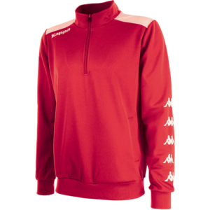 Sacco 1/4 Zip Red