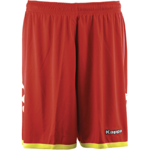 Salerne shorts red yellow
