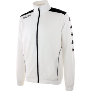 Tiriolo track top white front