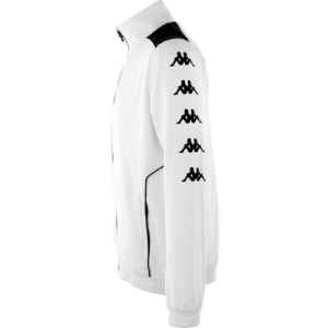 Tiriolo track top white back