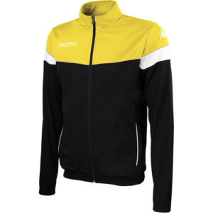 Vacone Track Top - Black Yellow