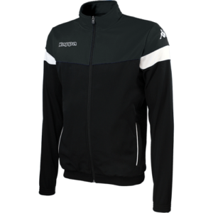 Vacone Track Top - Black