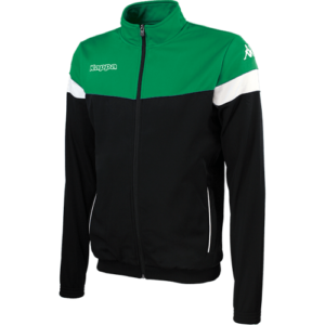 Vacone Track Top - Black - Green