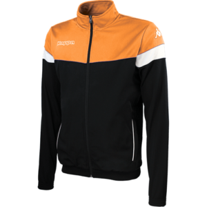 Vacone Track Top - Black Orange