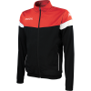 Vacone Track Top - Black - red
