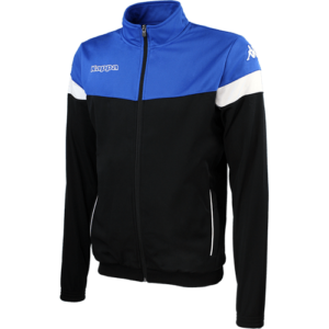 Vacone Track Top - Black Nautic Blue