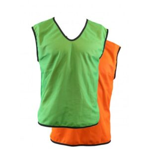 Green Orange reversible bibs