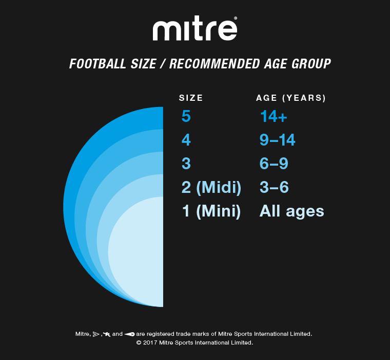 Mitre Football Sizes