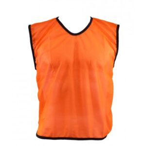 Orange Mesh Bib