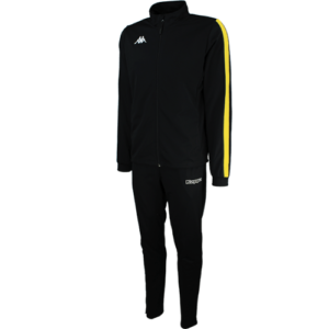 Salcito Tracksuit Black Yellow