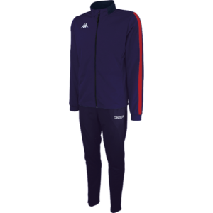 Salcito Tracksuit Marine blue - red