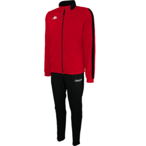 Salcito Tracksuit Red Black