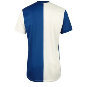 50/50 jersey royal white
