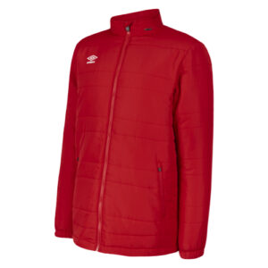 Club Essential Bench Jacket Vermillion