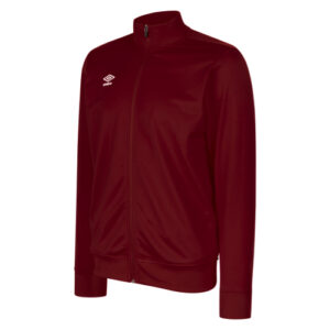 Club Essential Poly Jacket Claret