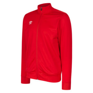 Club Essential Poly Jacket Vermillion