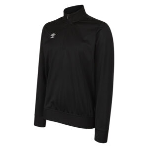 Essential 1/2 Zip Sweat Black