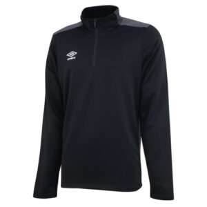Training 1/2 Zip Sweat Black Carbon