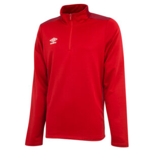 Training 1/2 Zip Sweat Jester Red Vermillion