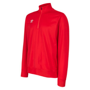 Essential 1/2 Zip Sweat Vermillion