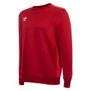 Training Poly Sweat Vermillion