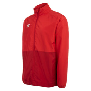 Training Shower Jacket Vermillion