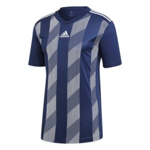 adidas striped 19 ss jersey dark blue