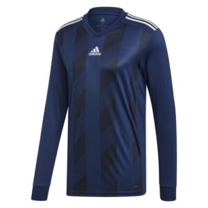 Adidas striped 19 ls jersey dark blue