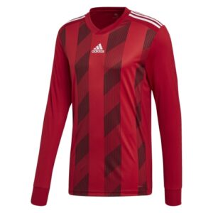 Adidas Striped 19 LS jersey red