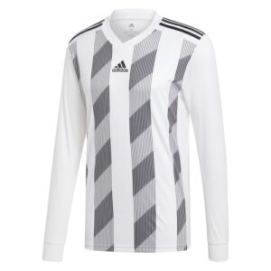 Adidas Striped 19 ls jersey white