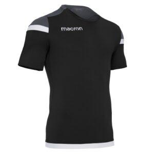Macron Titan Jersey Black Charcoal
