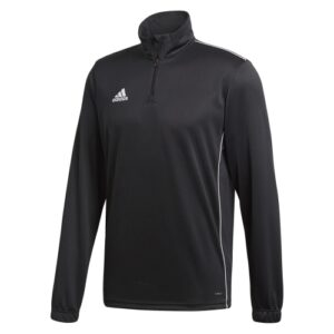 Adidas Core 18 Quarter Zip Black