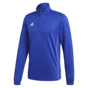 Adidas Core 18 Quarter Zip Bold Blue