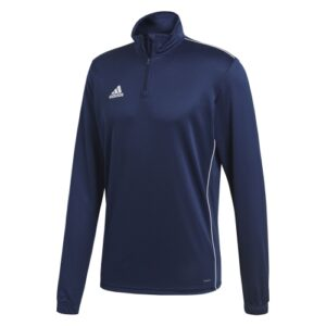 Adidas Core 18 Quarter Zip Dark Blue