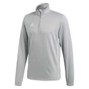 Adidas Core 18 Quarter Zip Stone