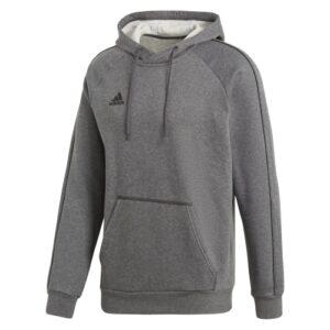 Adidas Core 18 hoodie dark grey