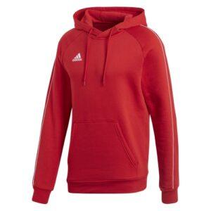 Adidas Core 18 Hoodie Power red