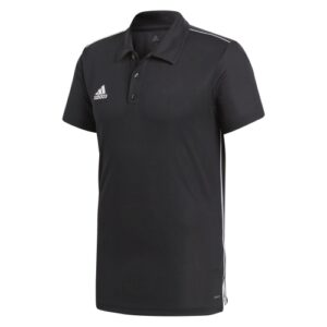 Adidas Core 18 Polo Black