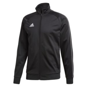 Adidas Core 18 Polyester Jacket Black