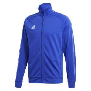 Adidas Core 18 polyester jacket bold blue