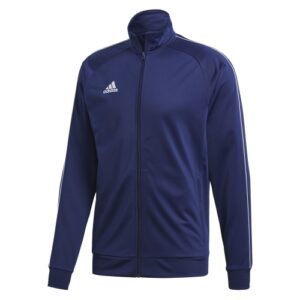 Adidas Core 18 polyester jacket Dark Blue