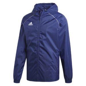 Adidas Core 18 Rain Jacket Dark Blue